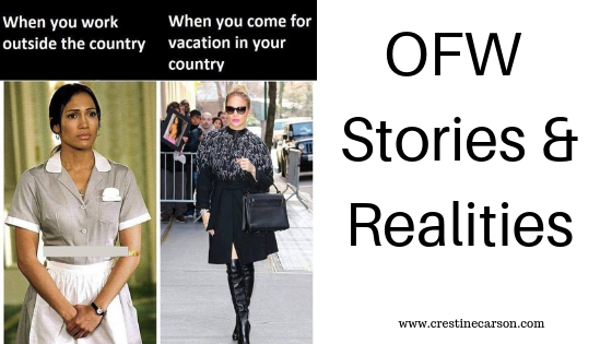 OFW Stories and Realities
