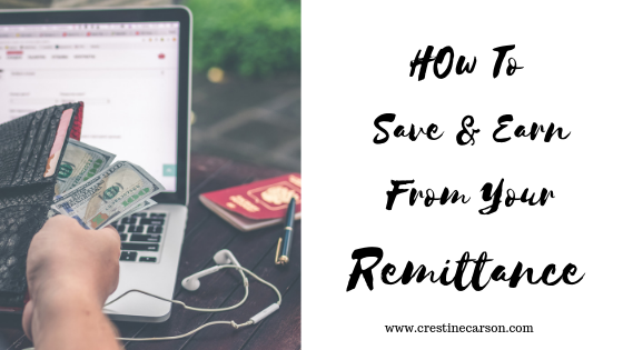 How To Save and Earn From Your Remittance